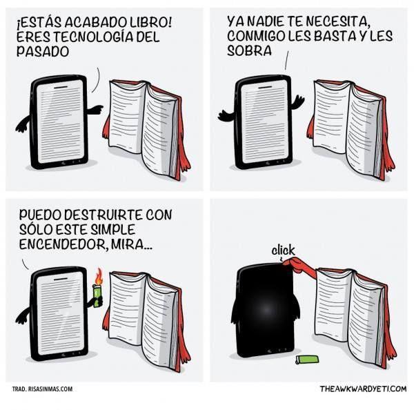 El libro vs el ebook