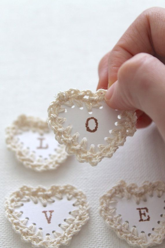 DIY SCRAPBOOK EMBELLISHMENTS Love Neutral by creativecarmelina, $3.00