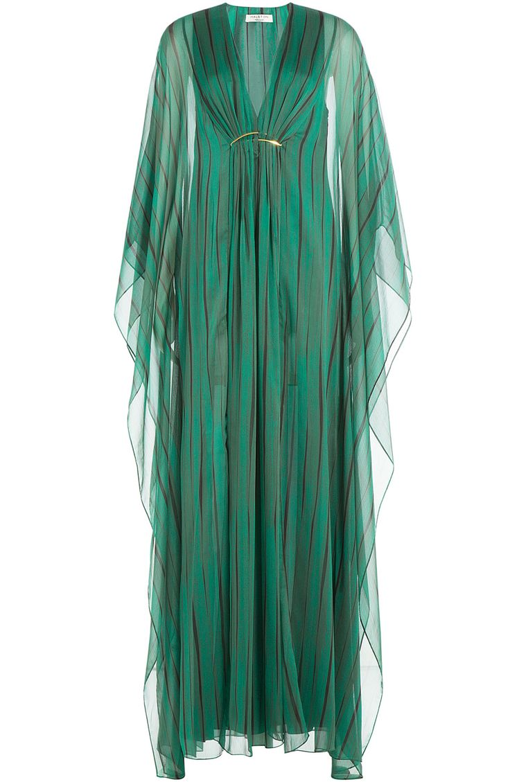Printed Chiffon Maxi Dress detail 0
