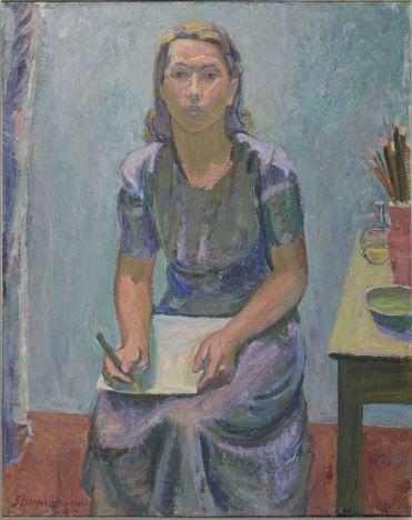 Sam Vanni Portrett av Tove Janson 1940. Foto Kari Siltala 18910