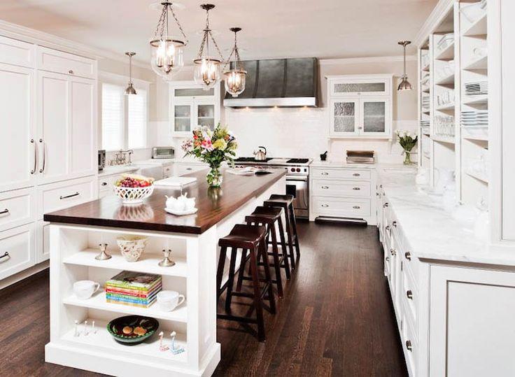 U Shaped Kitchen With Island Designs