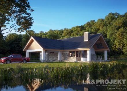 Projekty domów LK Projekt LK&836 http://lk-projekt.pl/lkand836-produkt-925.html