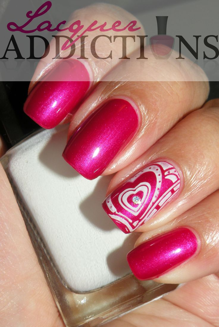 valentines nail art 1000 images about designs nails on 13226