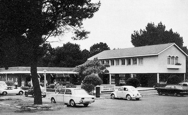 Medowridge Shopping Centre - c1972.
