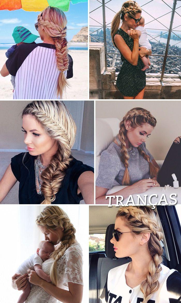 Os penteados maravilhosos da blogger Amber Fillerup!: