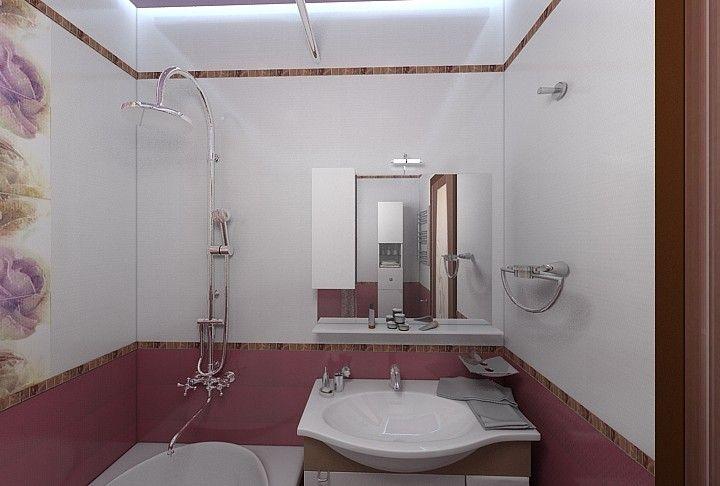 Ванная комната в фиолетовых тонахФиолетовый цвет имеет множество оттенков. Это, преимущественно, природные краски: лаванда, аметист, сирень, слива, черника, фуксия, баклажан и другие. Неповторимые цвета способны создать в ванной комнате особую обстановку и настроение.  Они могут быть теплыми (баклажан, орхидея), холодными (аметист, пурпур, гелиотроп), нейтральными (чертополох, сирень). В первом варианте — преобладание красных цветов, во втором – синих, в третьем их поровну.