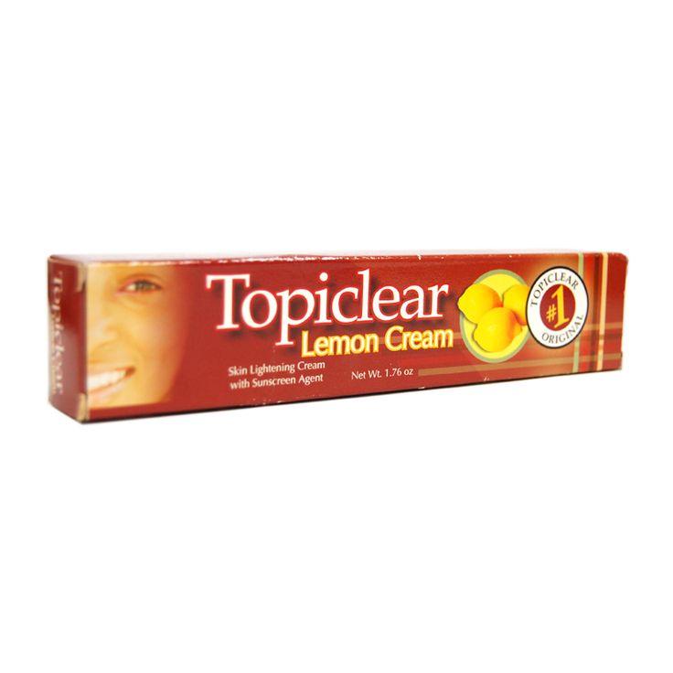 Topiclear Lemon Cream, is an skin lightener cream with sunscreen agent, lightens…