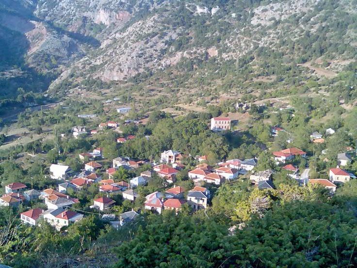 My favorite place.... Dafnos, Greece.