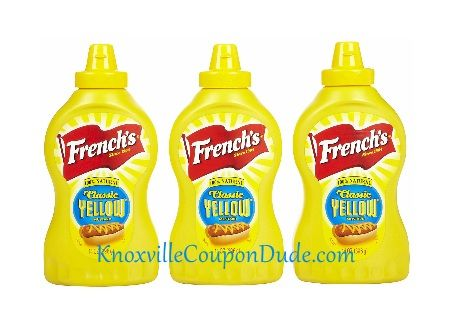// Now through 1/28 (1/27 for some) you can score a great deal on French's Mustard - only 4 cents each!!! This is a definitely a stock up price! Here is a Deal Breakdown: Buy (1) French's Cl...