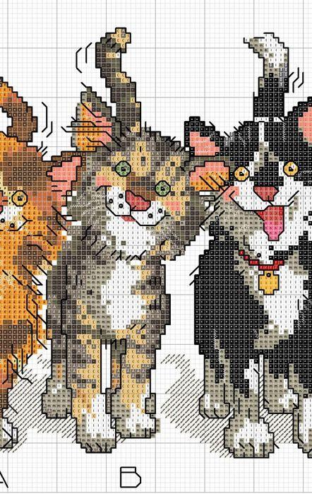 Prt 2 cats stitch
