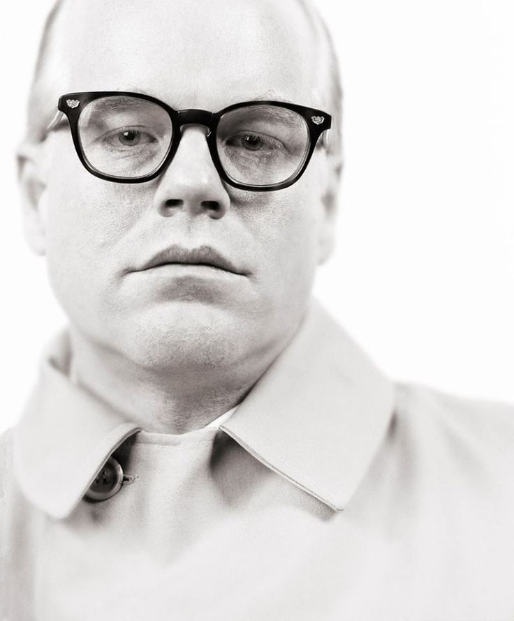 """© Sebastian Copeland, 2006, Philip Seymour Hoffman, shot during the filming of """"Capote"""" for the film's poster"""