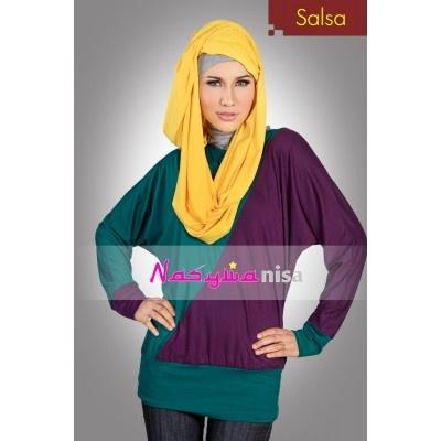 Blus Muslim ~ Salsa | Model Busana Januari 2013