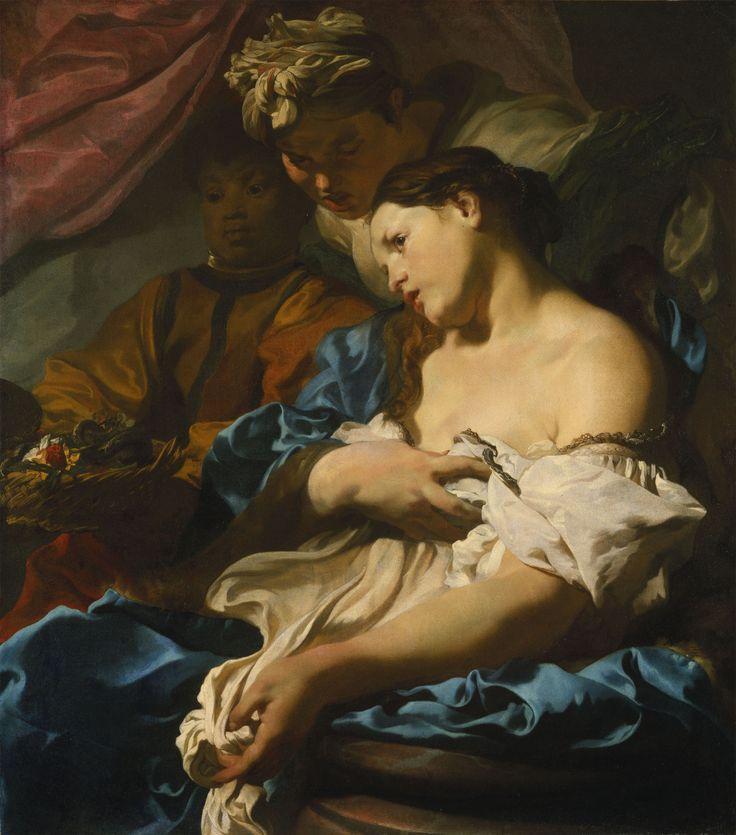 Johann Liss (1595/1600 - 1631), Tod der Kleopatra, um 1624/25, Leinwand, 97,5 x…
