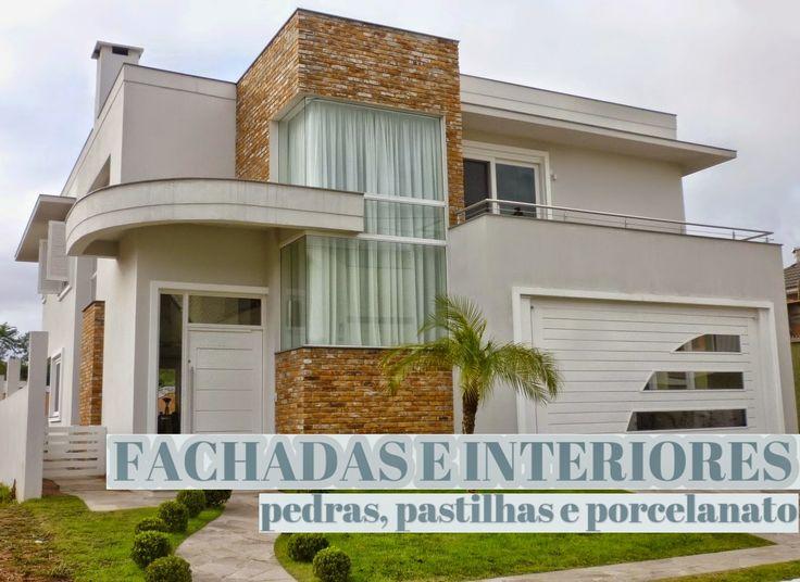 Construindo Minha Casa Clean: 30 Fachadas de Casas Modernas dos Sonhos!