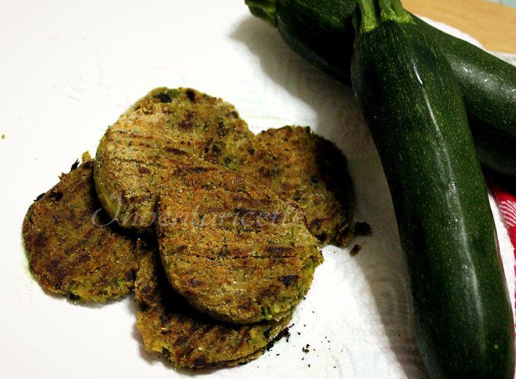 Cotolette di verdure, Le Contandine: con ceci e zucchine. Vegetable chops with chickpeas and zucchini