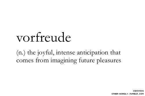 Anticipation about future pleasures