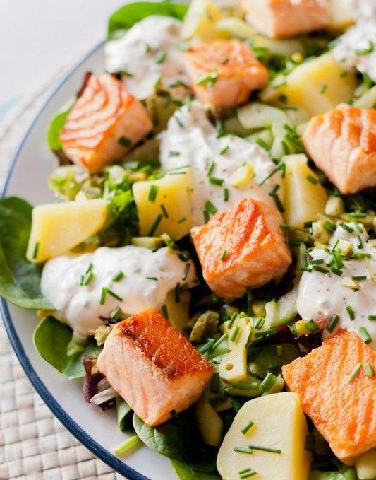 Les 25 meilleures id es de la cat gorie salade verte compos e sur pinterest salade de noix - Salade d ete originale et facile ...