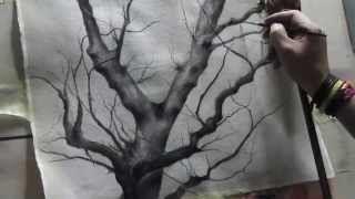 Al Mazzaglia - YouTube  - I Have a tree Speed Drawing. #speeddrawing #speedpainting #draving #painting #artwork #Viarco #derwent #tree #draw # www.behance.net/almazzaglia http://almazzaglia.blogspot.com