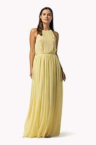 Shop de chiffon maxi-jurk met print en verken de Tommy Hilfiger jurken collectie voor dames. Gratis retourneren & verzending vanaf €50. 8719253873393