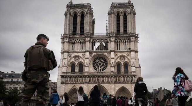 Paris: A French police officer shot and injured a man who attacked him with a hammer outside Paris's Notre-Dame cathedral on Tuesday, authorities said. Police sealed off the area in front of the cathedral, where the attacker lay injured on the ground. The attack comes with France on high alert...