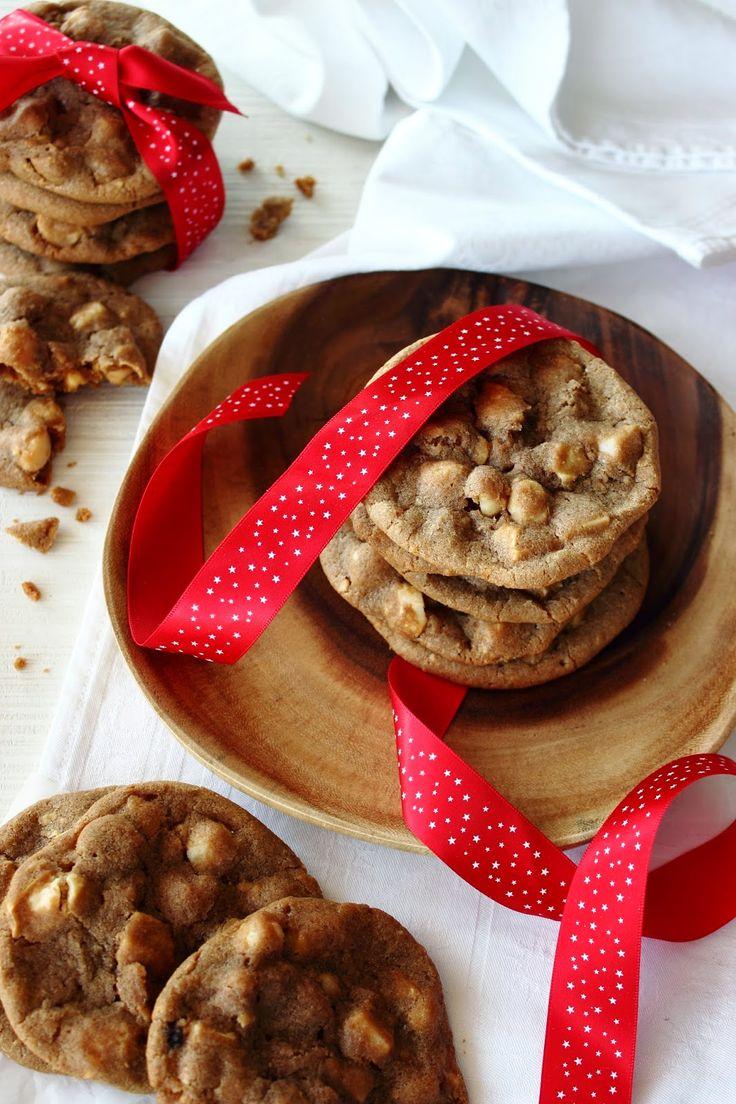 Zoet & Verleidelijk: Macadamiakoekjes met witte chocolade