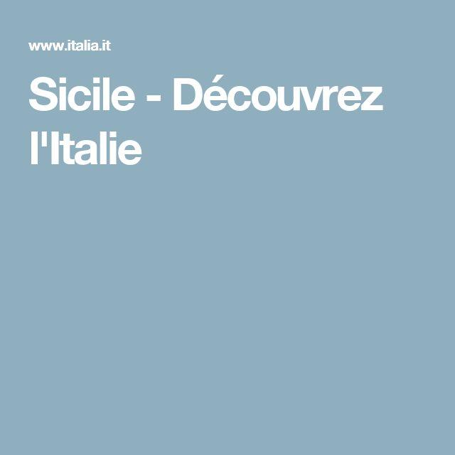 Sicile-Découvrez l'Italie