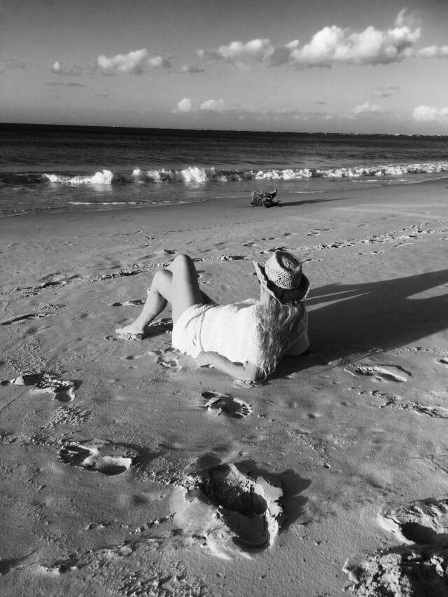 Relaxing Stradbroke Island