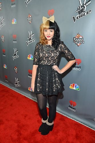 Melanie Martinez at the #Top12 party. #TheVoice