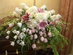 Image result for flower arrangements for coffin
