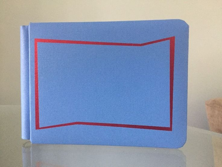"""Creative Memories Blue/Red Razzy 5""""x7"""" Sized Scrapbook Album boy snap pack pages #CreativeMemories #babyboyscrapbook #readymadepages"""