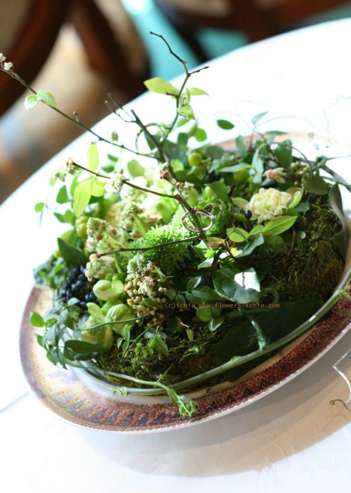 ウェディングの演出 ブルーベリーのリングピロー : 一会 ウエディングの花