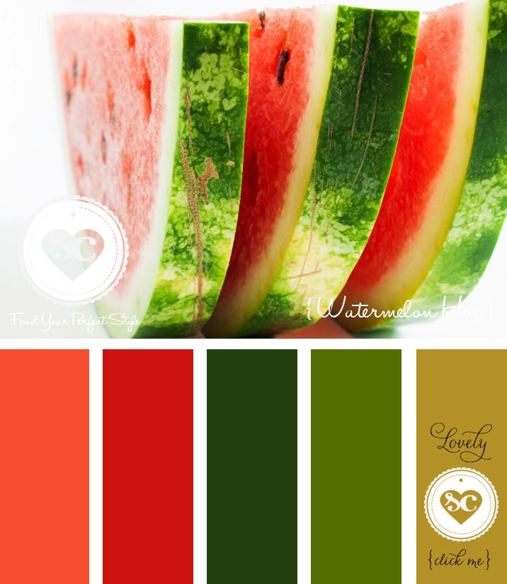 145 Watermelon Hue by Asmalina  © 2012 Sorbetcolour ™