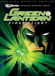 Green Lantern first flight.