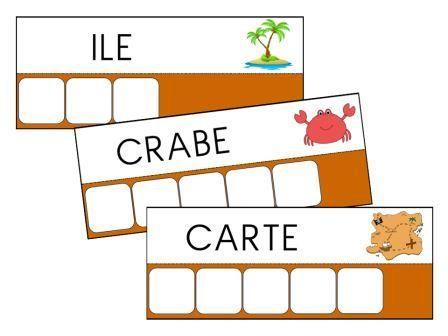 """Fiches """"Atelier des mots"""" sur les pirates"""