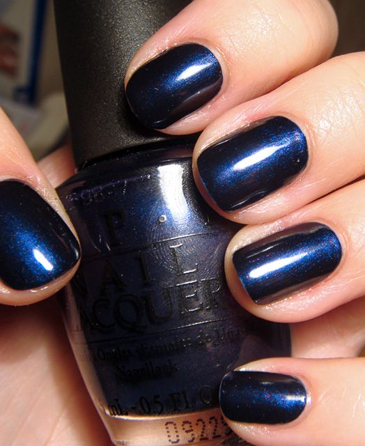 My favourite polish, OPI Russian Navy