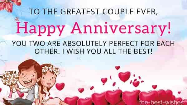 The Best Wedding Anniversary Wishes For Friends And Couples Anniversary Wishes For Friends Anniversary Wishes For Parents Happy Anniversary Quotes