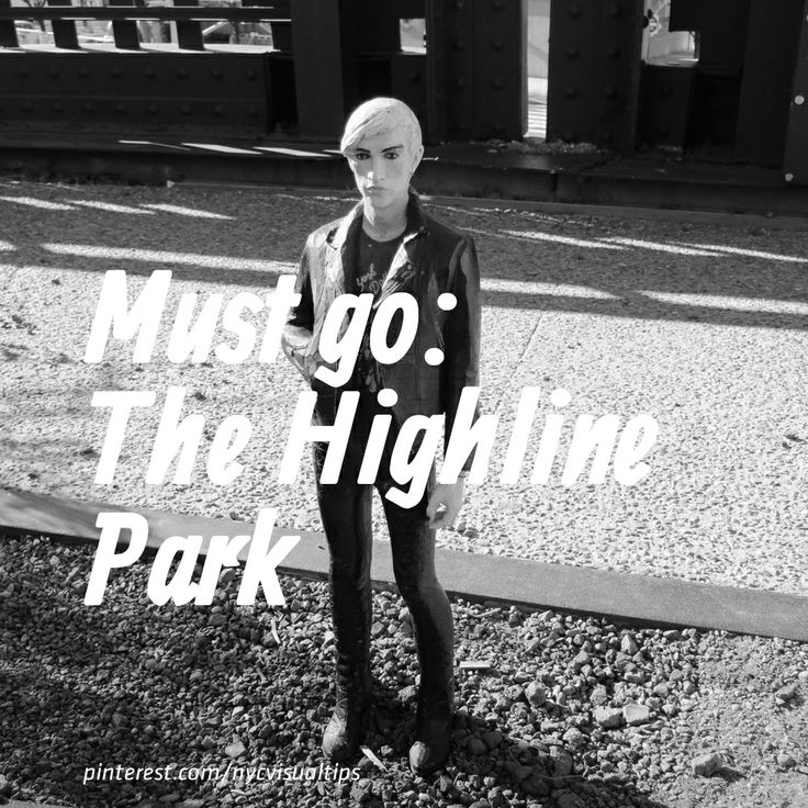 Must go: The Highline Park