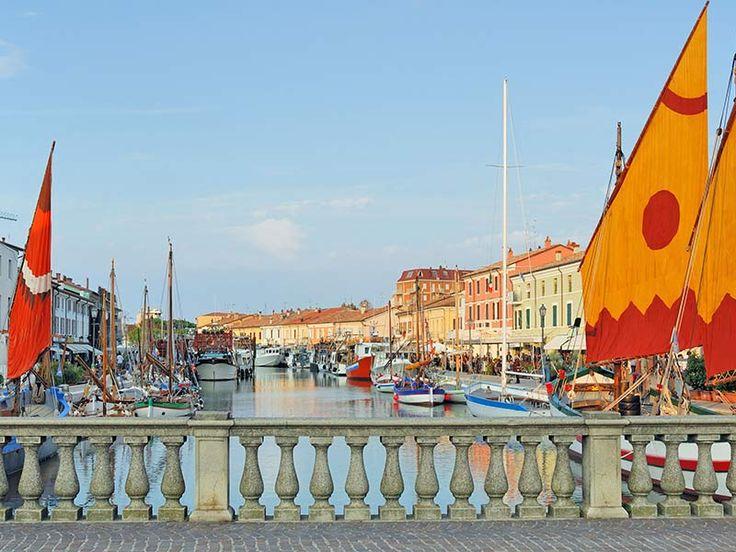 #Cesenatico - Veduta del porto - Riviera Adriatica