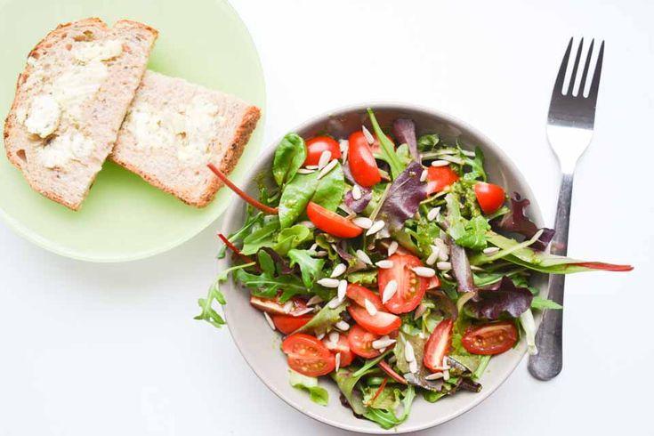 Lunchen met minder brood inspiratie: brood als bijgerecht!