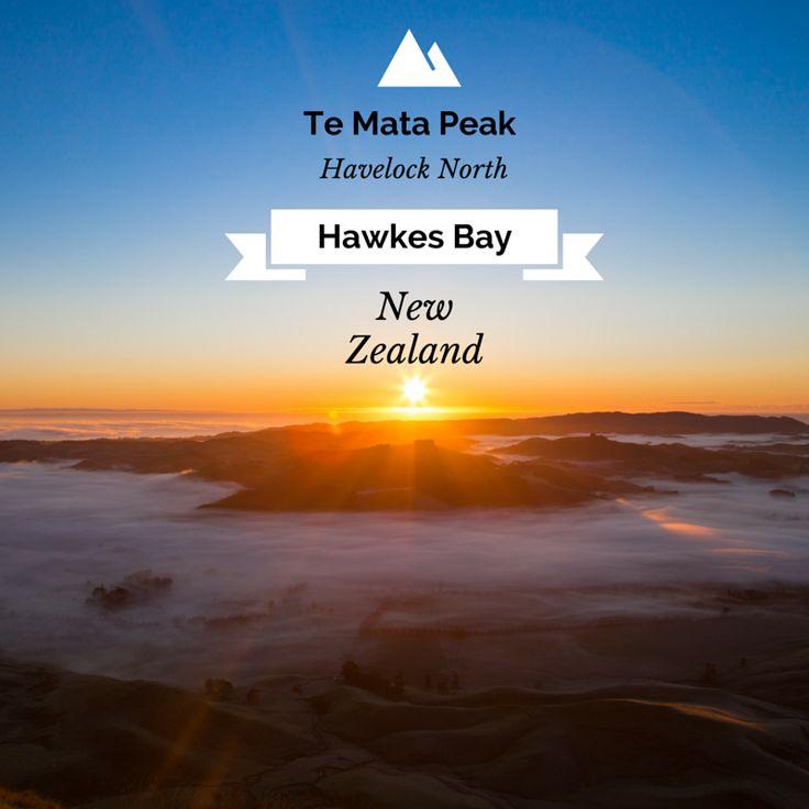Te Mata Peak, Havelock North, Hawkes Bay, New Zealand