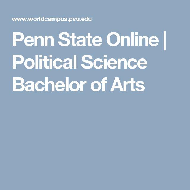online degree programs undergraduate bachelor science political