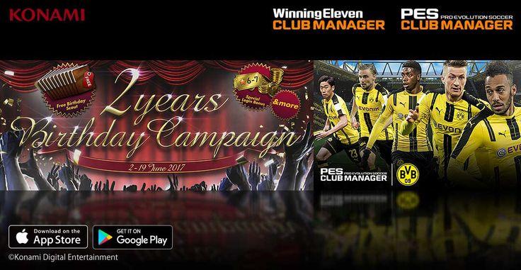 Diverses campagnes de 2e anniversaire arrivent !