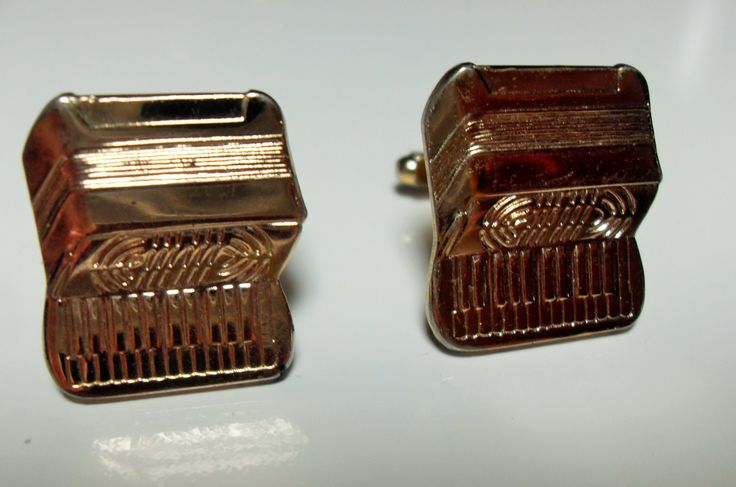 Art Deco piano cuff links, Rare Wurlitzer Piano gold filled toggle cufflinks, Father's Day gift,  men's accessories, Gingerslittlegems by GingersLittleGems on Etsy
