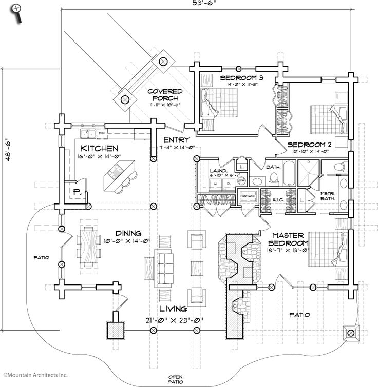 17 best Floor Plans images on Pinterest Log houses Log homes and