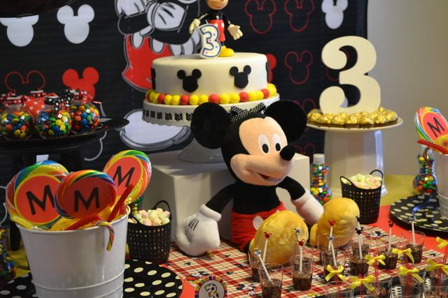 "Photo 1 of 16: Mickey Mouse / Birthday ""Moroni's 3rd Birthday Party!"" 