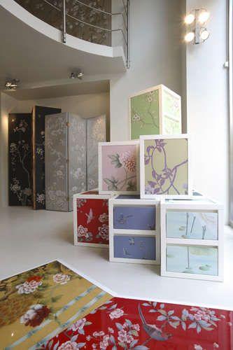 handmade wallpaper: misha handmadewallpaper isn't just for walls