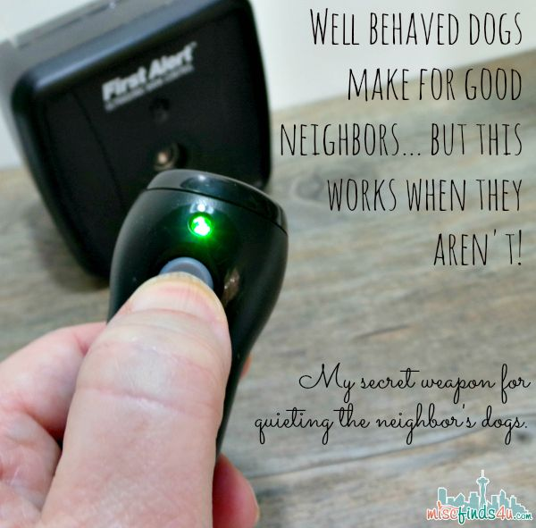 Bark Genie - stop the neighbor dog's barking from your yard or train your own dog. Works on all breeds but not all dogs. If it works, it works great!