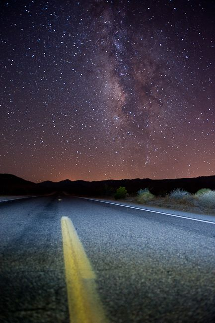 Milky Way Galaxy, Anza-Borrego Desert thk:::::::::::::Anza-Borrego Desert State Park is a state park located within the Colorado Desert of Southern California, United States