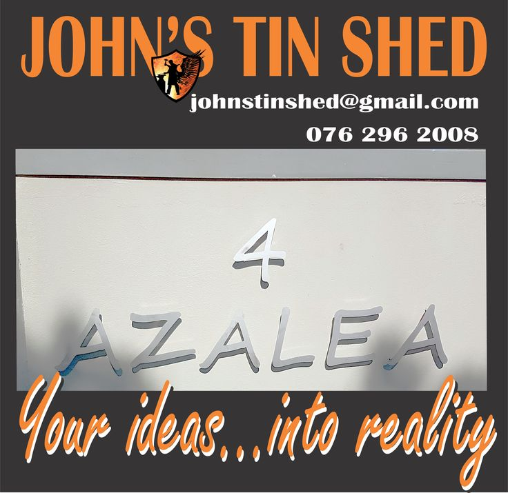 Stainless Steel letters for signage