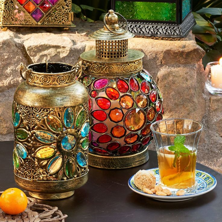 Beautiful Bohemian Lanterns